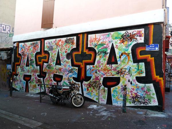 tags à Marseille